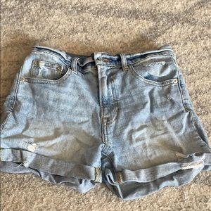 Gap high rise shorts